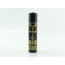 Briquet Clipper Hedonyst Narcos Santa Cruz 2 black