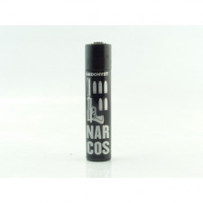 Briquet Clipper Hedonyst Narcos Assassin Black